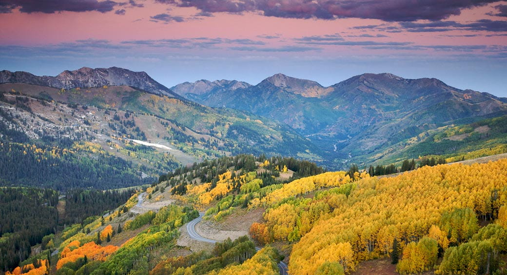 100 Free Attractions in the US - Cottonwood Canyon Salt Lake City