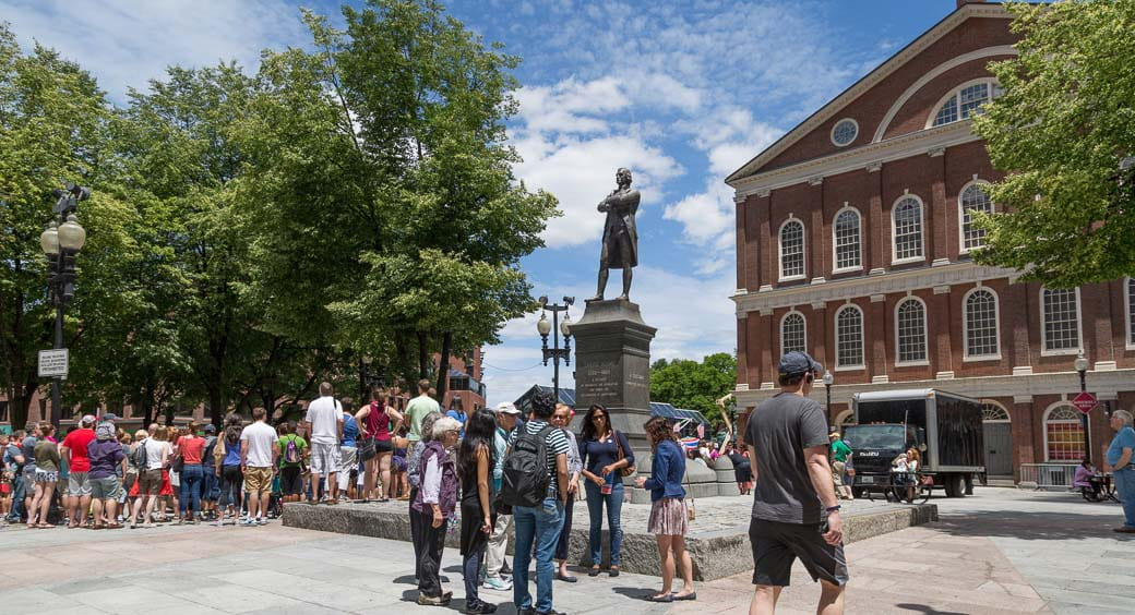 100 Free Attractions in the US - Faneuil Hall Boston