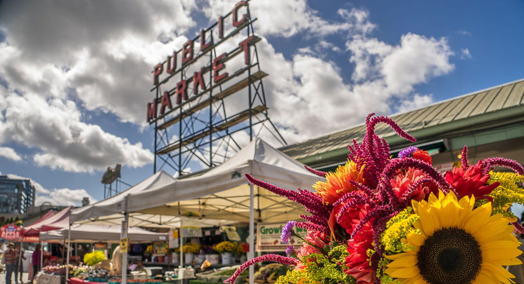 100 Free Attractions in the US - Pikes Place Market Seattle