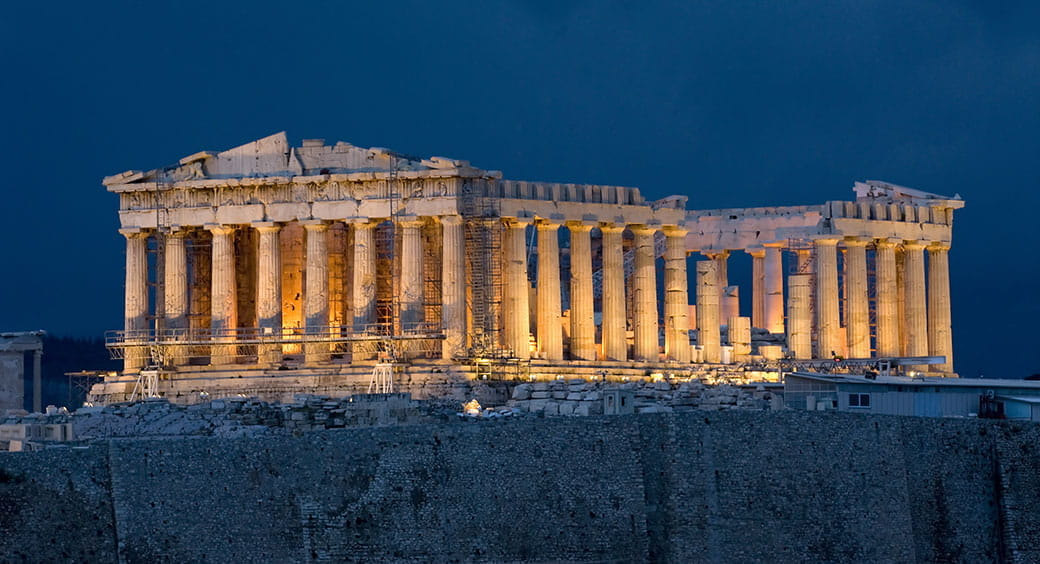 Affordable European Vacations - Parthenon in Athens