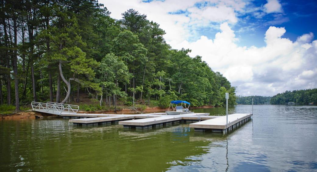 Houseboat Vacation Spots - Lake Lanier