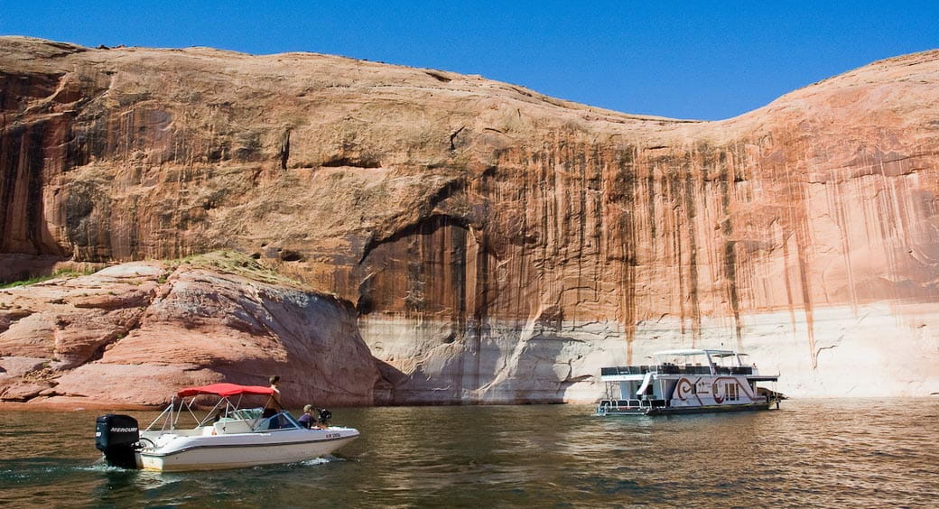 Houseboat Vacation Spots - Lake Powell Houseboats