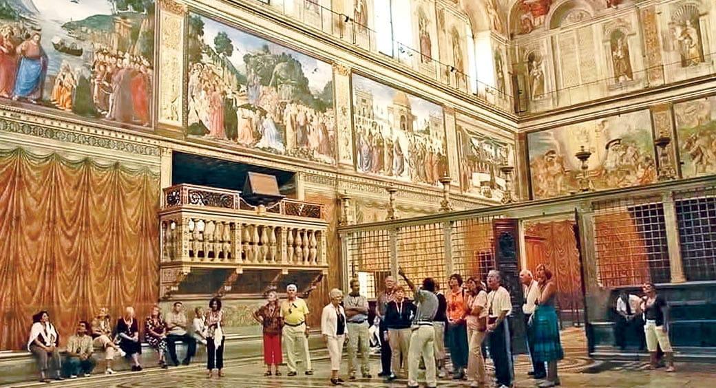 Group Tours VIP Access - Sistine Chapel Tours