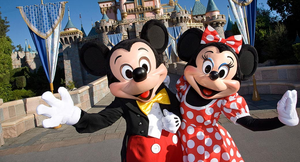 Disney Vacation Savings Tips - Mickey and Minnie