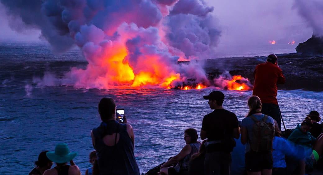 Visiting Hawaii on a Budget - Hawaii Volcano