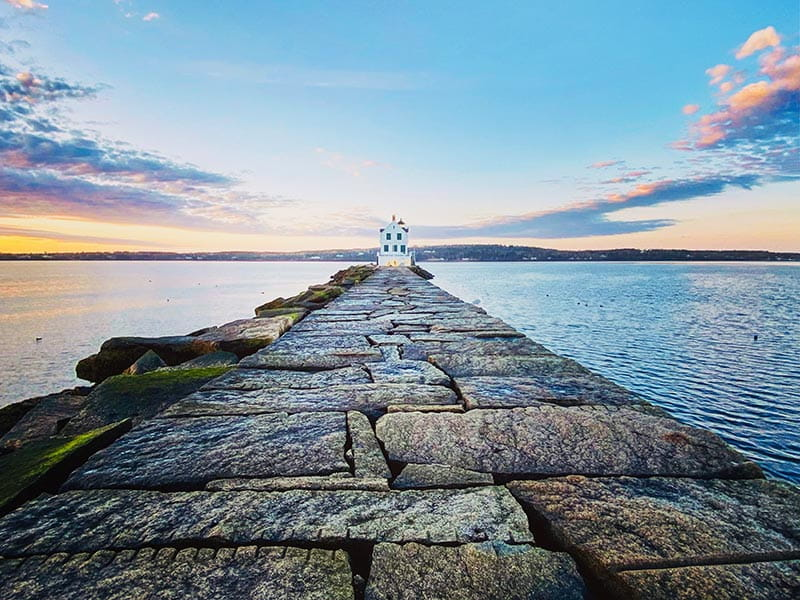 Grand Prize: Rockland, ME - Breakwater Lighthouse | Submitted by: Renee H.