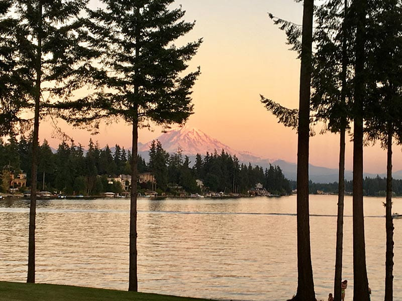 Runner Up: Lake Tapps - Pierce County, WA | Submitted by: Jerilyn Y.