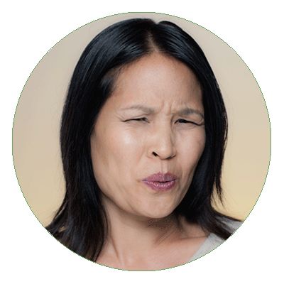 5 Money Mistakes Educators Need to Avoid - photo of woman with sour expression on her face