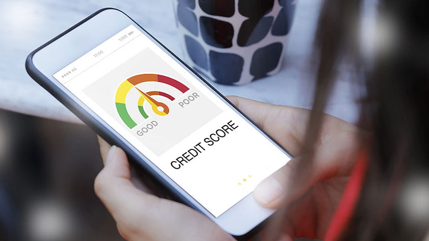 Why You Need to Get and Keep a Good Credit Score - Smart Phone Showing a Credit Score On the Screen