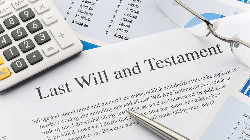 Close Up of a Will Document - Top 10 Estate Planning Tips in a Time of Coronavirus