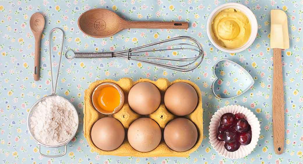 Magazines for Quarantine Hobbies - Eggs and Utensils