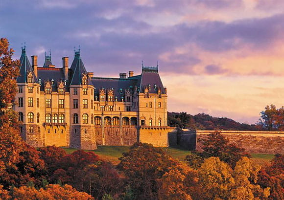 Historic U.S. Castles - Biltmore Estate, Asheville, North Carolina