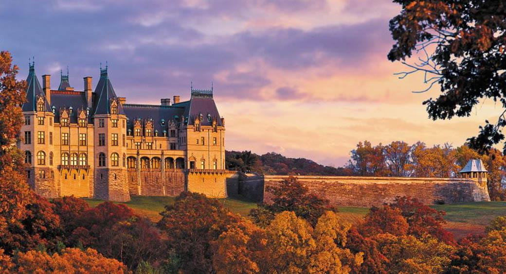 Historic U.S. Castles - Biltmore Estate, Asheville, North Carolina
