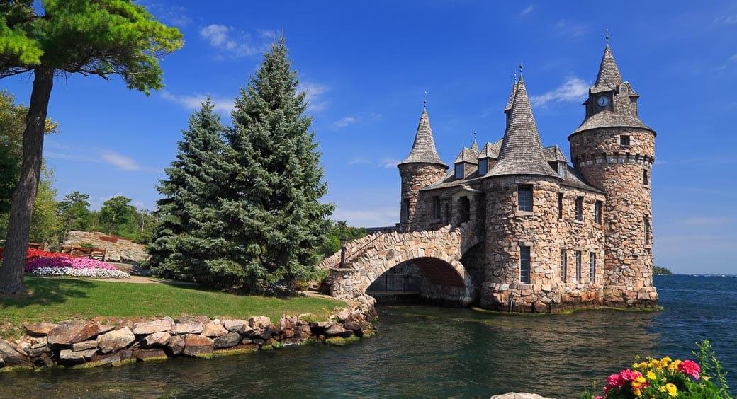 Historic U.S. Castles - Boldt Castle, Heart Island, New York