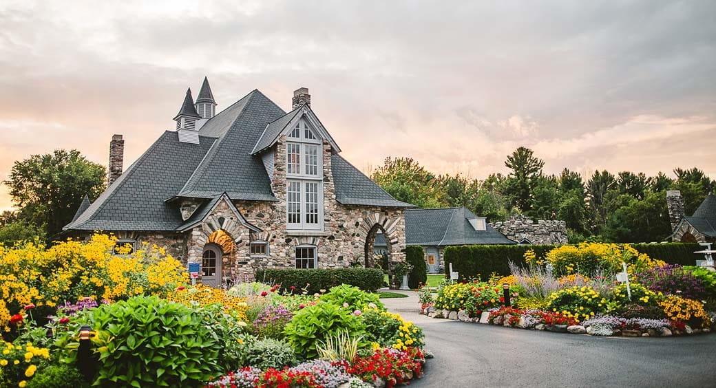 Historic U.S. Castles - Castle Farms, Charlevoix, Michigan
