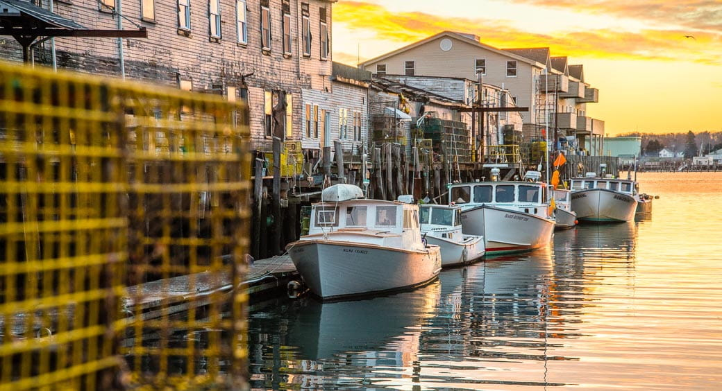 Best Cities for Long Weekends - Boats Docked in Portland, ME