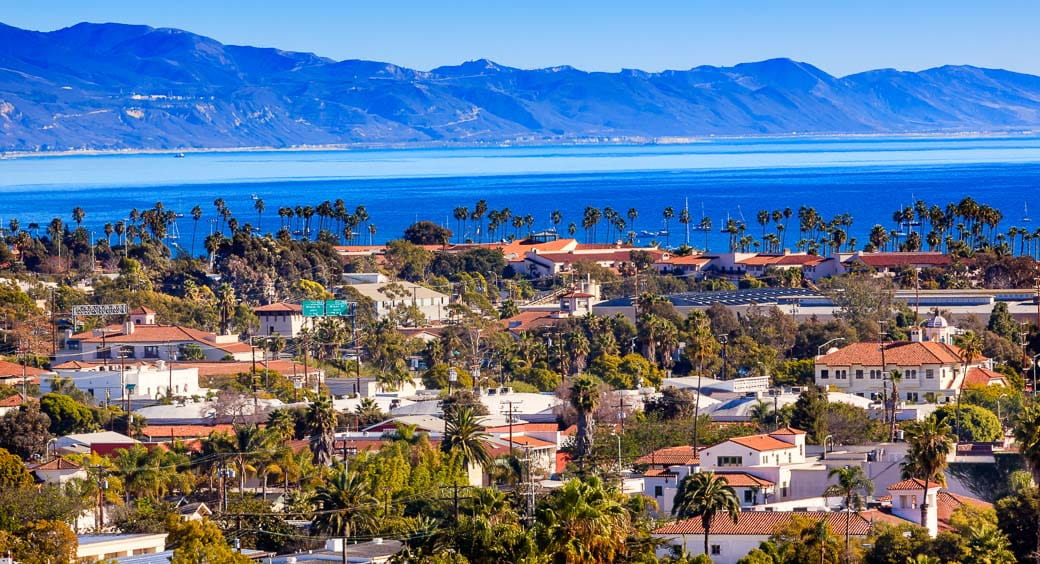 Best Cities for Long Weekends - Santa Barbara, California