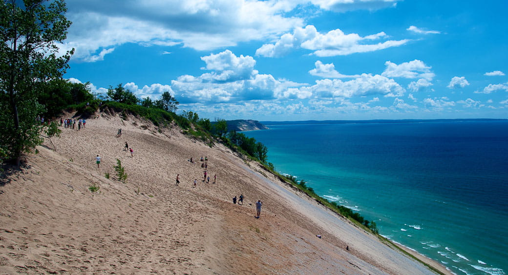 Best Cities for Long Weekends - Sleeping Bear Dunes National Lakeshore, Traverse City, Michigan