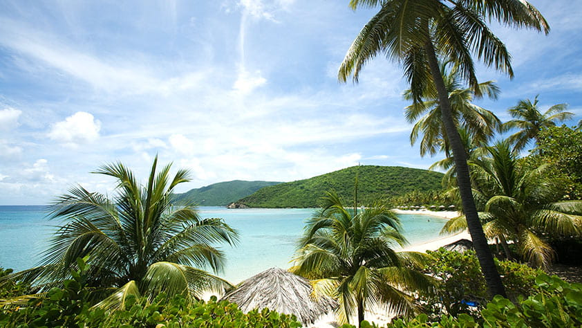 View of Little Dix Bay, Virgin Gorda, British Virgin Islands