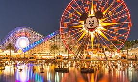 Disneyland, Cars Land at Night