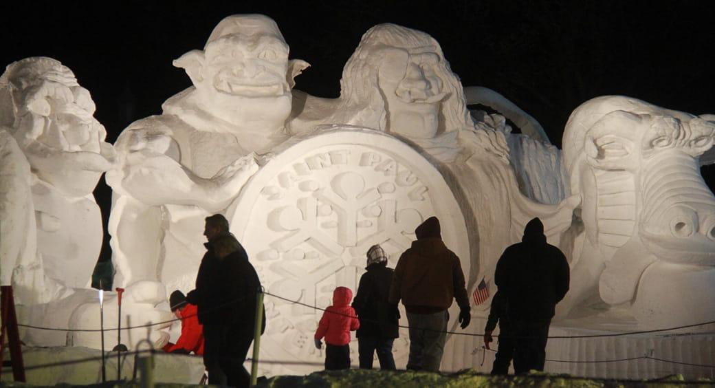 St. Paul Winter Carnival in St. Paul, Minnesota