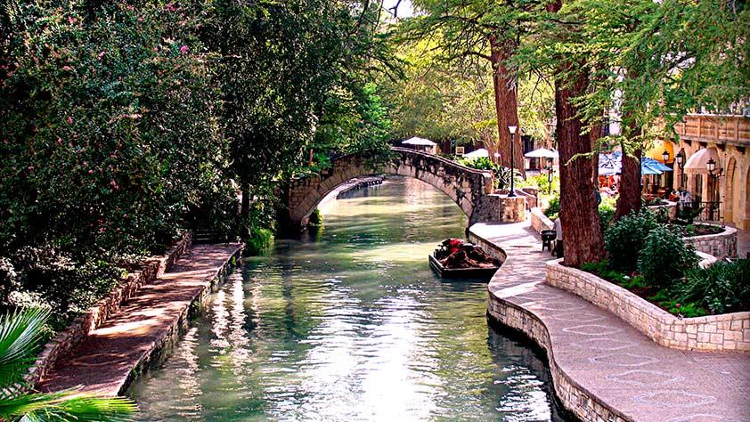 San Antonio Riverside Walkway