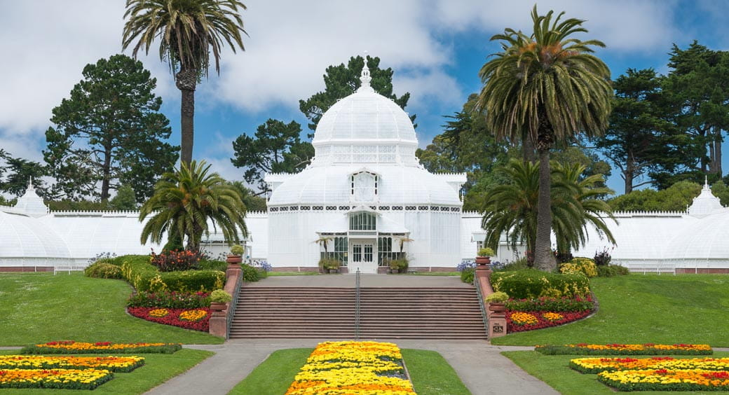 Conservatory of Flowers in San Francisco, California