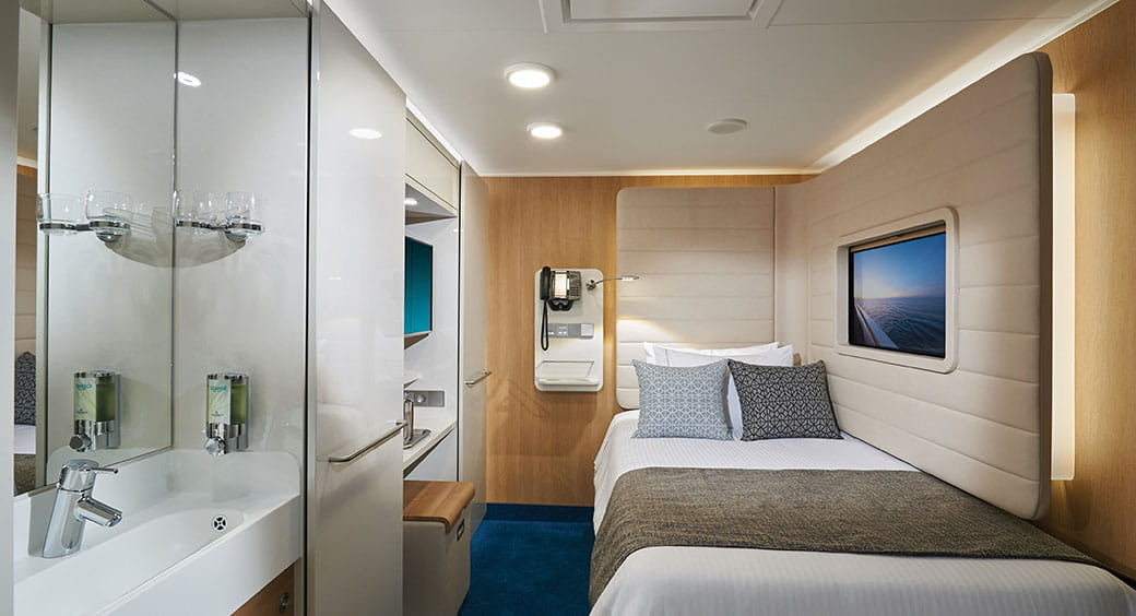 Cruises for Solo Travelers - Norwegian Cruise Line Studio Cabin