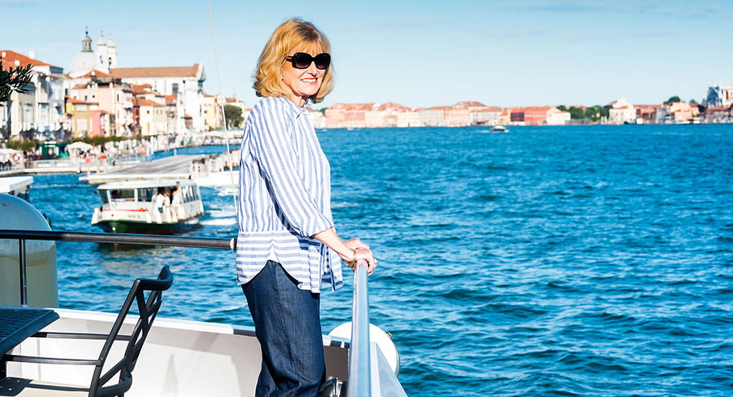 Cruises for Solo Travelers - Woman Looking Our Over the Water
