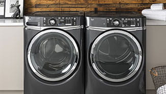 GE Appliances Store - front loading laundry machines