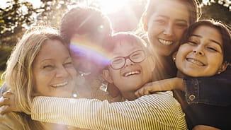 NEA Guaranteed Issue Life Insurance, Happy Family