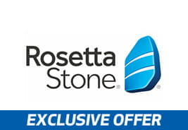 Rosetta Stone - Exclusive Offer