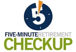 Five-Minute Retirement Checkup Calculator