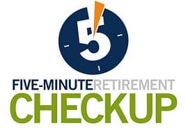 Five-Minute Retirement Checkup Calculator