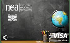NEA Customized Cash Rewards Visa Signature Credit Card