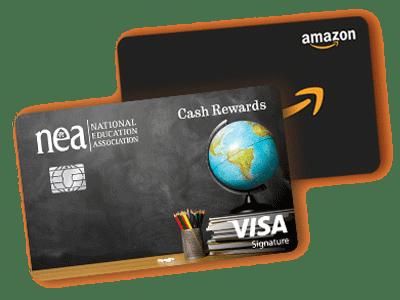 NEA® Cash Rewards Credit Card and Amazon Gift Card