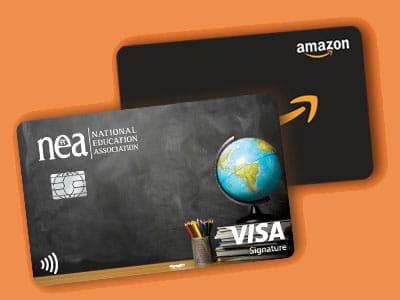 NEA® Customized Cash Rewards Credit Card and Amazon Gift Card