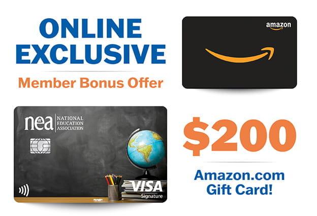 NEA Customized Cash Rewards Card