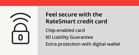 Feel Secure with the NEA RateSmart Credit Card