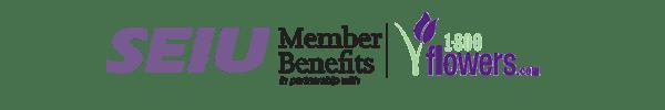 SEIU Member Benefits en asociación con 1800Flowers.com