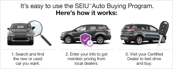 It's easy to use the SEIU Auto Buying Program