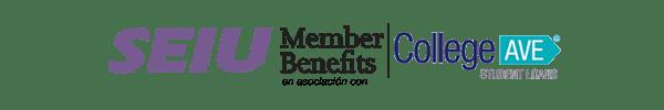 SEIU Member Benefits en asociación con College Ave Student Loans
