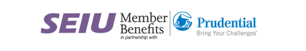 SEIU member benefits in partnership with Prudential