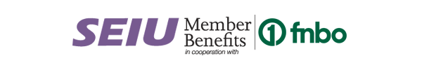 SEIU member benefits in cooperation with First National Bank Omaha
