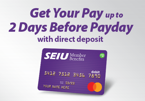 SEIU Prepaid Card | SEIU Member Benefits