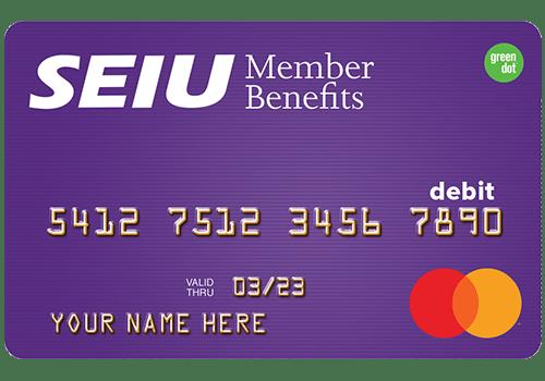 SEIU Prepaid Card