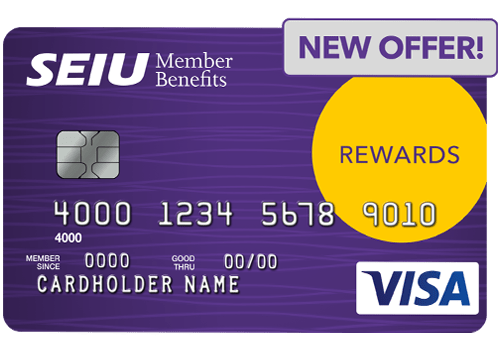 SEIU Rewards Visa Card